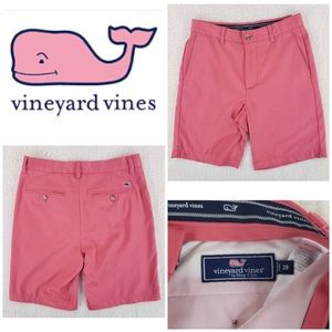 Vineyard Vines Links Shorts Salmon sz 28 or 6